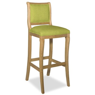 Divine 36.5 Bar Stool Upholstery: Found Hemlock