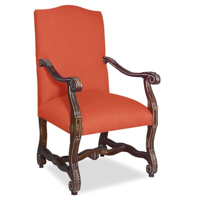 Divine Catherine Arm Chair Upholstery: Me Tangerine