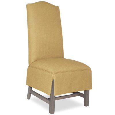 Divine Khloe Parsons Chair Upholstery: Found Old Gold