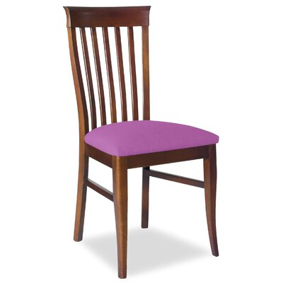 Divine Daniel Side Chair Upholstery: Found Radiant Orchid