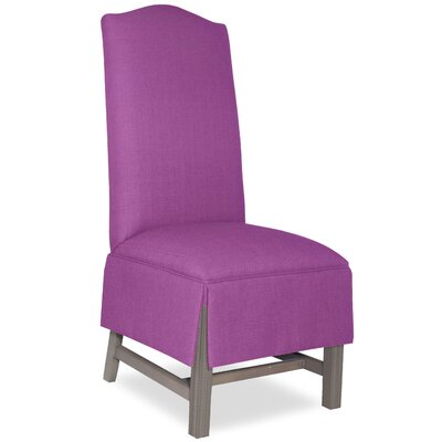 Divine Khloe Parsons Chair Upholstery: Found Radiant Orchid
