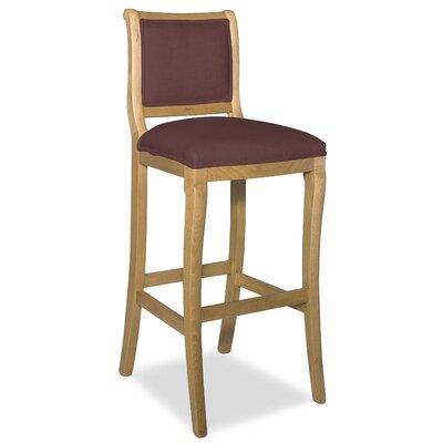Divine 36.5 Bar Stool Upholstery: Me Chestnut