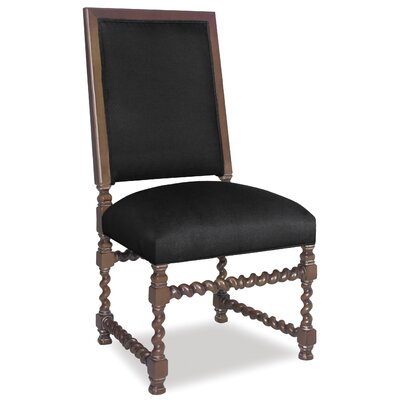 Divine Jordan Side Chair Upholstery: Found Black