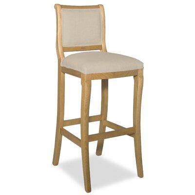 Divine 36.5 Bar Stool Upholstery: Me Linen