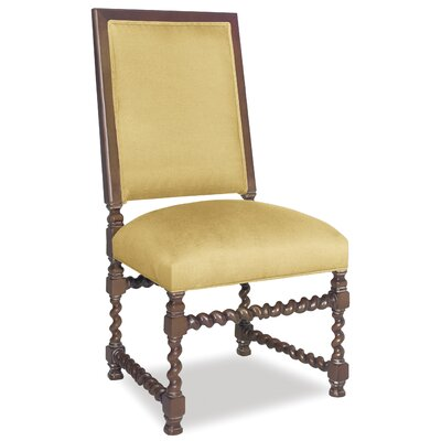 Divine Jordan Side Chair Upholstery: Found Old Gold