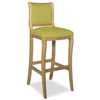 Divine 36.5 Bar Stool Upholstery: Me Pear