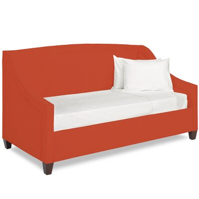 Dreamtime Daybed with Mattress Size: Twin XL, Color: Tangelo