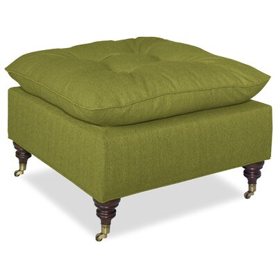 Mondo Pillow Top Ottoman Upholstery: Grass