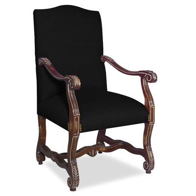 Divine Catherine Arm Chair Upholstery: Found Black