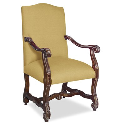 Divine Catherine Arm Chair Upholstery: Found Old Gold