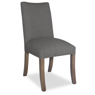 Divine Joshua Parsons Chair Upholstery: Me Charcoal