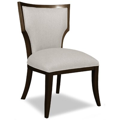 Divine Ashley Side Chair Upholstery: Me Cream