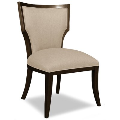 Divine Ashley Side Chair Upholstery: Me Linen