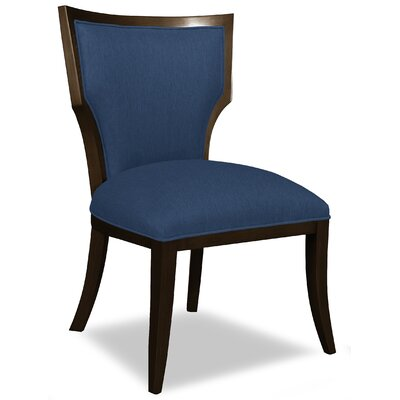Divine Ashley Side Chair Upholstery: Me Navy