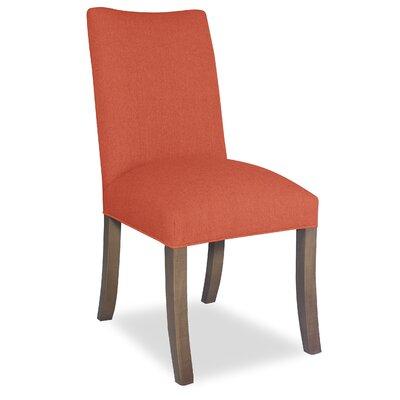 Divine Joshua Parsons Chair Upholstery: Me Tangerine
