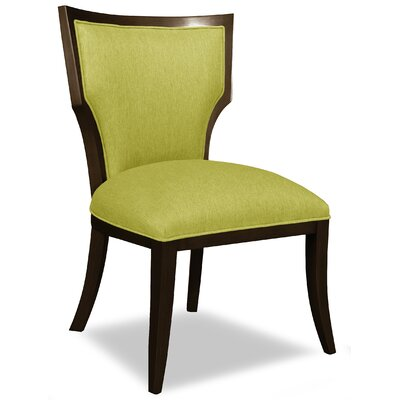 Divine Ashley Side Chair Upholstery: Me Pear