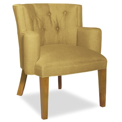 Divine Ginny Arm Chair Upholstery: Found Old Gold