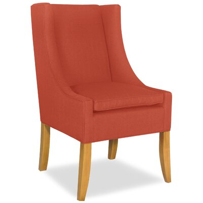 Divine Shirley Parsons Chair Upholstery: Me Tangerine