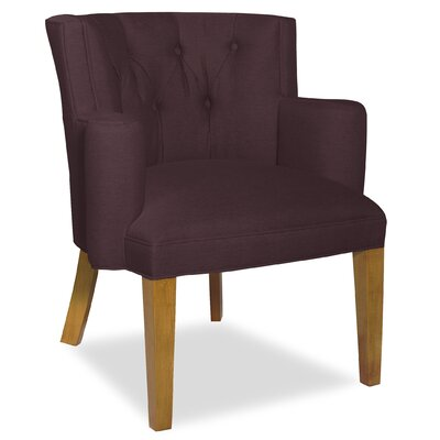 Divine Ginny Arm Chair Upholstery: Me Chestnut
