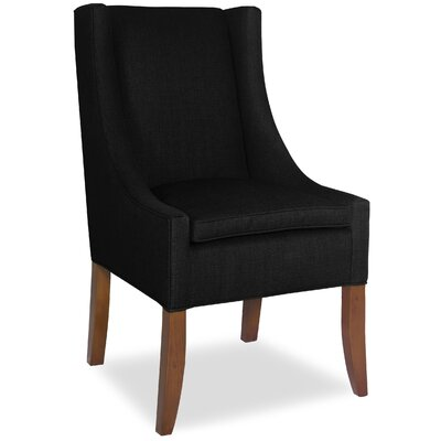 Divine Ted Arm Chair Upholstery: Found Black