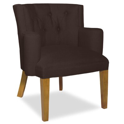 Divine Ginny Arm Chair Upholstery: Me Chocolate