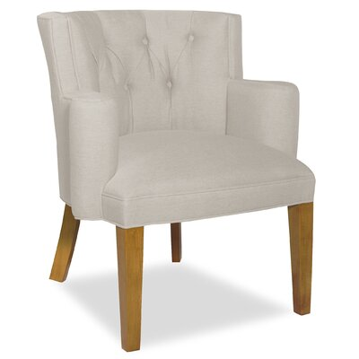 Divine Ginny Arm Chair Upholstery: Me Cream