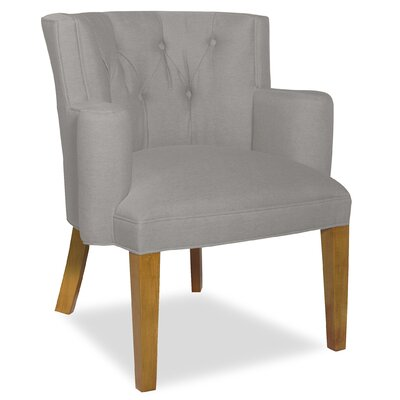Divine Ginny Arm Chair Upholstery: Me Gravel