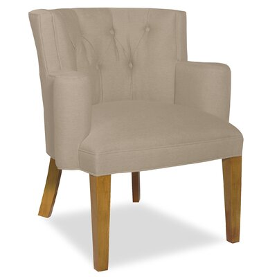 Divine Ginny Arm Chair Upholstery: Me Linen