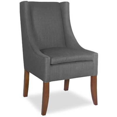 Divine Ted Arm Chair Upholstery: Me Charcoal