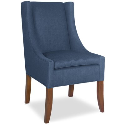 Divine Ted Arm Chair Upholstery: Me Navy