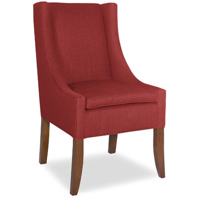 Divine Ted Parsons Chair Upholstery: Me Ruby