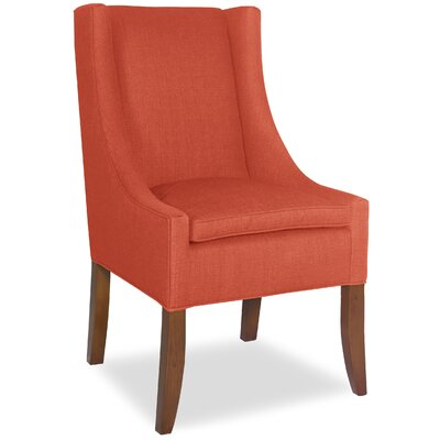 Divine Ted Parsons Chair Upholstery: Me Tangerine