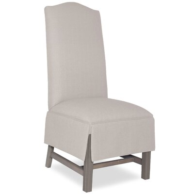 Divine Khloe Parsons Chair Upholstery: Me Cream