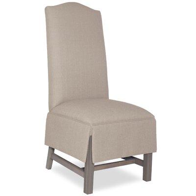 Divine Khloe Parsons Chair Upholstery: Me Linen