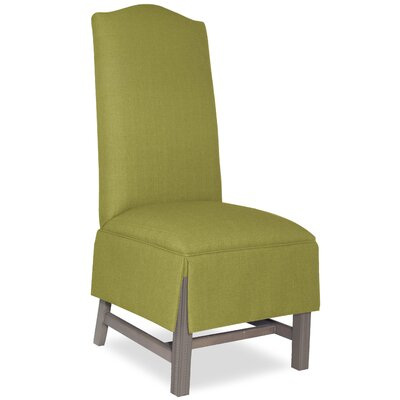 Divine Khloe Parsons Chair Upholstery: Me Pear