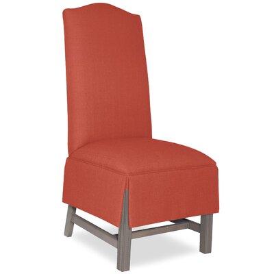Divine Khloe Parsons Chair Upholstery: Me Tangerine