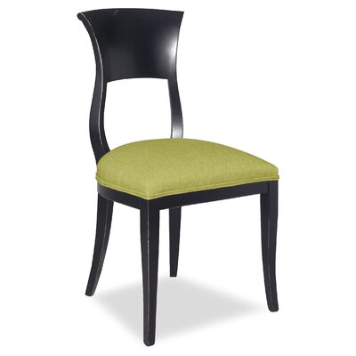Divine Aaron Side Chair Upholstery: Found Hemlock