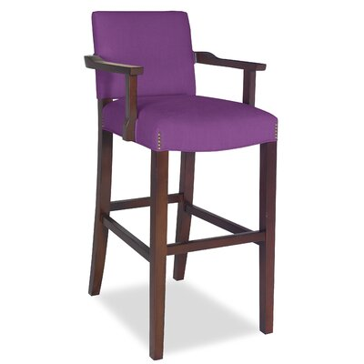Divine Bar Stool Upholstery: Found Zantium