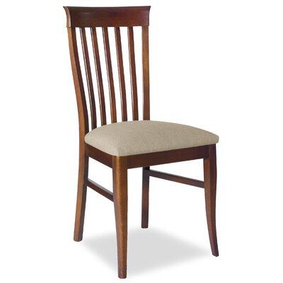 Divine Daniel Side Chair Upholstery: Me Linen