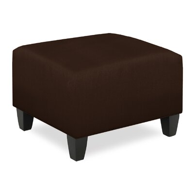 City Spaces Ottoman Upholstery: Chocolate