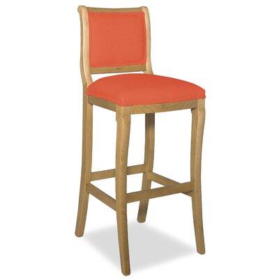 Divine 36.5 Bar Stool Upholstery: Me Tangerine