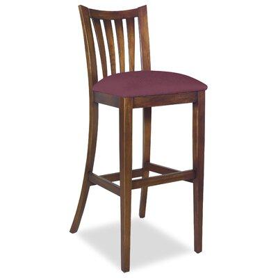 Divine Bar Stool Upholstery: Me Chestnut