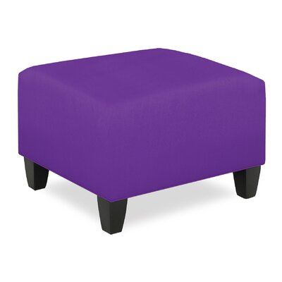 City Spaces Ottoman Upholstery: Eggplant