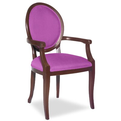Divine Kayla Arm Chair Upholstery: Found Radiant Orchid