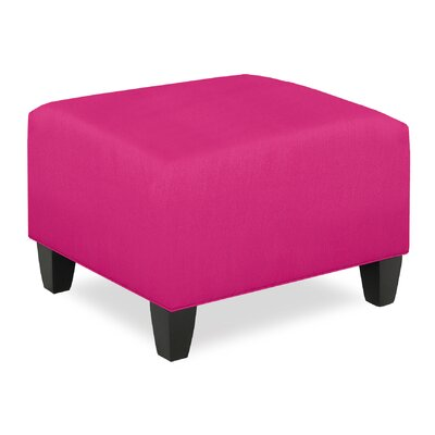 City Spaces Ottoman Upholstery: Fuchsia