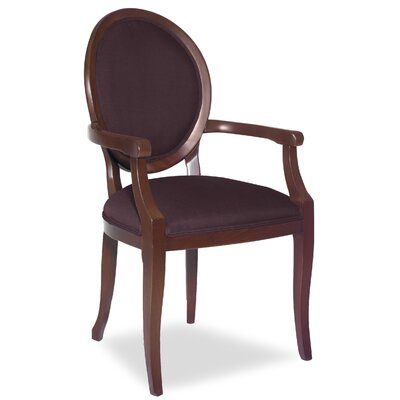 Divine Kayla Arm Chair Upholstery: Me Chestnut