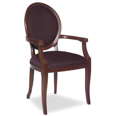 Divine Kayla Arm Chair Upholstery: Me Chestnut