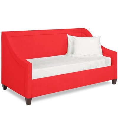 Dreamtime Daybed with Mattress Size: Twin XL, Color: Scarlet