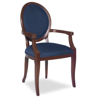 Divine Kayla Arm Chair Upholstery: Me Navy