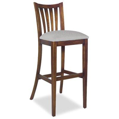 Divine Bar Stool Upholstery: Me Gravel